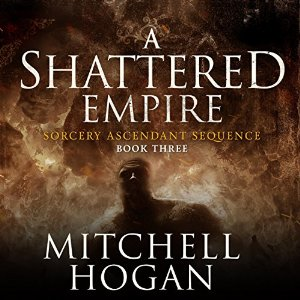 A Shattered Empire audiobook by Mitchell Hogan