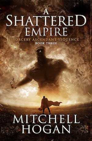 A Shattered Empire by Mitchell Hogan