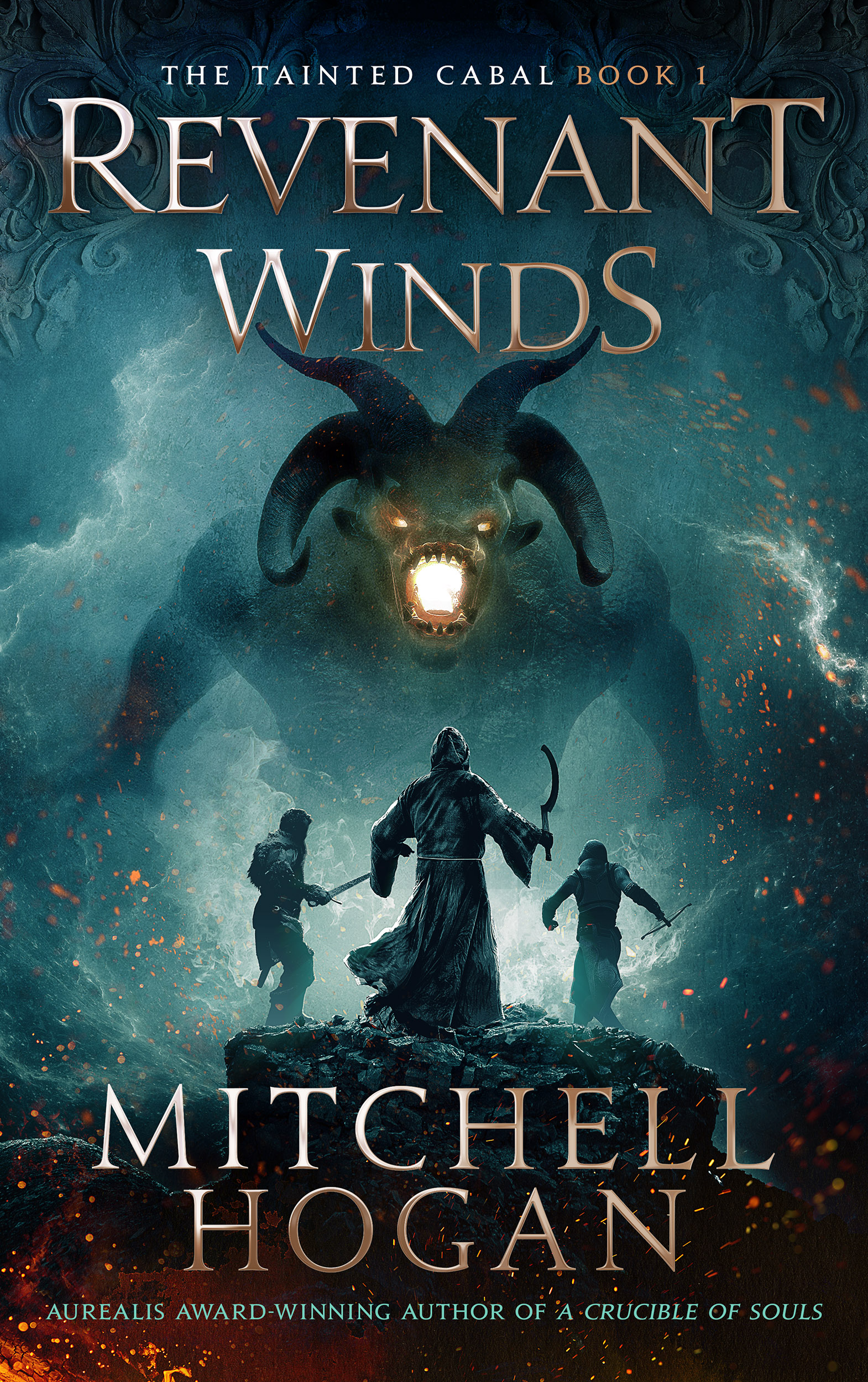 Revenant Winds audiobook by Mitchell Hogan